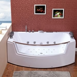 Single whirlpool baths